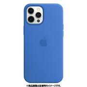 MagSafe対応iPhone 12 Pro Max シリコーンケース カプリブルー [MK043FE/A]