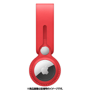 AirTagレザーループ (PRODUCT)RED [MK0V3FE/A]