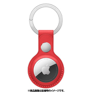 AirTagレザーキーリング (PRODUCT)RED [MK103FE/A]