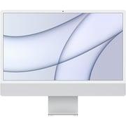Apple iMac 24インチ Retina 4.5Kディスプレイ Apple M1チップ/8コアCPU/8コアGPU/SSD 512GB/メモリ 8GB/シルバー [MGPD3J/A]