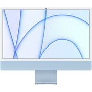 Apple iMac 24インチ Retina 4.5Kディスプレイ Apple M1チップ/8コアCPU/8コアGPU/SSD 512GB/メモリ 8GB/ブルー [MGPL3J/A]