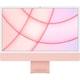 Apple iMac 24インチ Retina 4.5Kディスプレイ Apple M1チップ/8コアCPU/8コアGPU/SSD 512GB/メモリ 8GB/ピンク [MGPN3J/A]