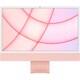 Apple iMac 24インチ Retina 4.5Kディスプレイ Apple M1チップ/8コアCPU/7コアGPU/SSD 256GB/メモリ 8GB/ピンク [MJVA3J/A]