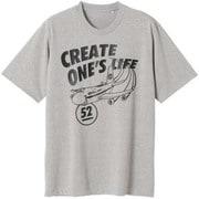 PANAM JET Tシャツ U B2JA1082 05 杢グレー Lサイズ [アウトドア カットソー ユニセックス]