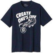 PANAM JET Tシャツ U B2JA1082 13 パトリオットブルー Sサイズ [アウトドア カットソー ユニセックス]