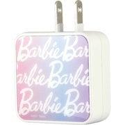 BAR-18A [ACアダプタ USB2ポート Barbie(バービー) ロゴ]
