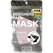 ANDM03-K-SAK [ANYe(エニー) デザイナーズパックマスク キッズ 洗えるマスク 日本製 持続冷感 抗菌 防臭 360度ストレッチ性能付き サクラ]