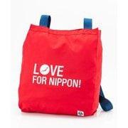 Love For Nippon 2Way EcoBag CH60-3206 RD [アウトドア トートバッグ]
