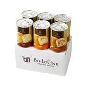 缶deボローニャ 6缶セット 3年保存 防災食 プレーン・チョコ・メープル