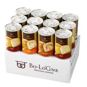 缶deボローニャ 12缶セット 3年保存 防災食 プレーン・チョコ・メープル
