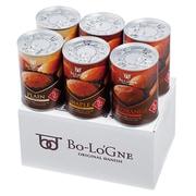 備蓄deボローニャ 6缶セット 5年保存 防災食 プレーン・ライ麦オレンジ・メープル