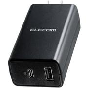 ACDC-PD1757BK [ノートPC向けACアダプター/PD準拠/57W/Type-C/USB-C1ポート/USB-Aメス1ポート/コンパクト/ブラック]