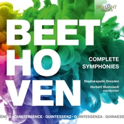ベートーヴェン:交響曲全集 5枚組 ブロムシュテット BRL-96040 [クラシックCD 輸入盤]
