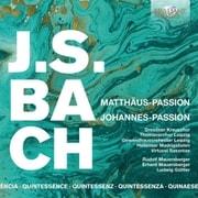 バッハ:マタイ受難曲、ヨハネ受難曲 5枚組 マウエルスベルガー/ギュトラー BRL-96042 [クラシックCD 輸入盤]