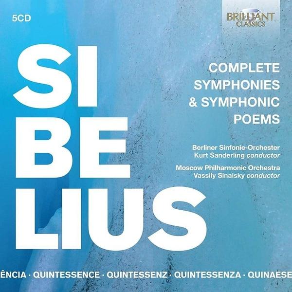 シベリウス:交響曲、交響詩全集 5枚組 ザンデルリング BRL-96113 [クラシックCD 輸入盤]