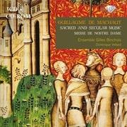 マショー:宗教曲と世俗音楽集 3枚組 アンサンブル・ジル・バンショワ BRL-94217 [クラシックCD 輸入盤]