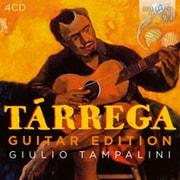 タレガ:ギター曲集 4枚組 タンパリーニ BRL-94336 [クラシックCD 輸入盤]