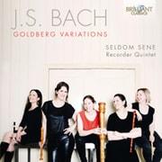 バッハ:ゴールドベルク変奏曲 セルダム・セネ BRL-95591 [クラシックCD 輸入盤]