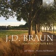 JDブラウン:フルートソナタ 4枚組 ヴェンツ BRL-95764 [クラシックCD 輸入盤]