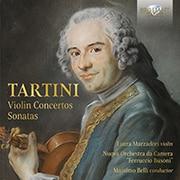 タルティーニ:ヴァイオリン協奏曲、ソナタ集 マルツァドーリ BRL-95769 [クラシックCD 輸入盤]