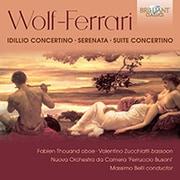 ヴォルフ=フェラーリ:牧歌的協奏曲 ベッリ BRL-95875 [クラシックCD 輸入盤]