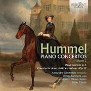 フンメル:ピアノ協奏曲集第2集 コンメラート BRL-95894 [クラシックCD 輸入盤]