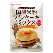 波里 砂糖不使用米粉パンケーキミックス 200g