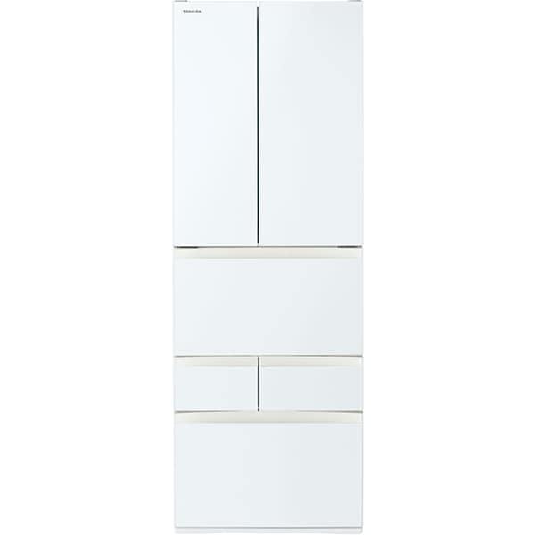 GR-T460FH(EW) [冷凍冷蔵庫 VEGETA(ベジータ) FHシリーズ (462L・フレンチドア) 6ドア 除菌機能 グランホワイト]