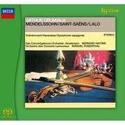 メンデルスゾーン:ヴァイオリン協奏曲、サン=サーンス:ハバネラ、ラロ:スペイン交響曲 [SACDソフト]