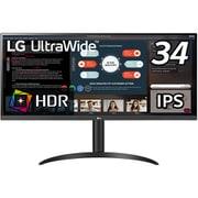 34WP550-B [34型 21:9 IPS 2560×1080 ウルトラワイドモニター/HDR/超解像技術/フリッカーセーフ/ブルーライト低減モード/高さ調整/FreeSync/DAS Mode/クロスヘア対応]