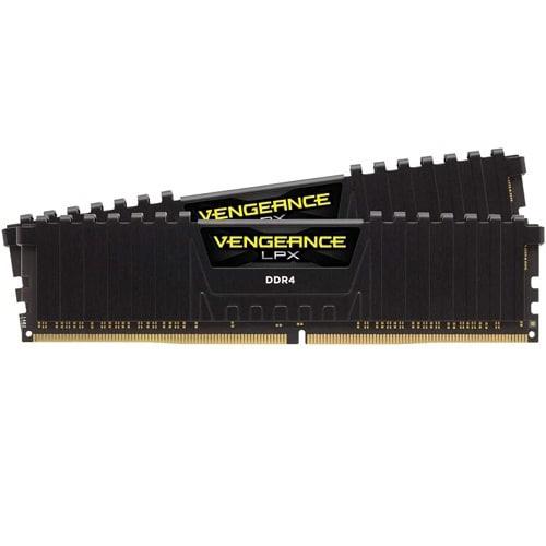 CMK32GX4M2E3200C16 [DDR4, 3200MHz 32GB 2x288 DIMM, Unbuffered, 16-20-20-38, Vengeance LPX Black, 1.35V, XMP 2.0]