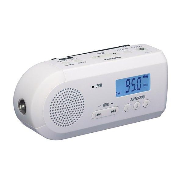 TY-JKR6(W) [FM/AM 手回し充電ラジオ ホワイト]