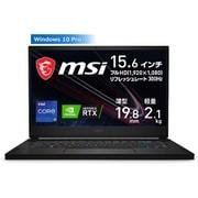 GS66-11UG-1026JP [リフレッシュレート300Hz液晶パネル搭載 eスポーツグレード薄型ハイエンドゲーミングノートPC 15.6インチ/インテル Core i9-11900H/NVIDIA GeForce RTX 3070 Laptop GPU/メモリ 16GB/SSD 1TB/Windows 10 Pro]