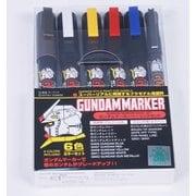 GMS105 ガンダムマーカー ベーシック6色セット [プラモデル用塗料]