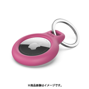 F8W973btPNK [AirTag用キーリング保護ケース (ピンク)]