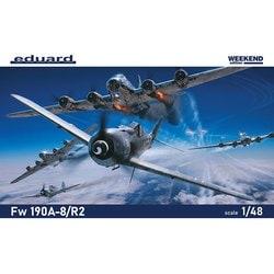 EDU84114 1/48 エアクラフトシリーズ Fw190A-8/R2 ウィークエンドエディション [組立式プラスチックモデル]