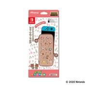 Nintendo Switch 用 スマートポーチEVA あつまれどうぶつの森 ラインアート