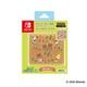 Nintendo Switch 用 カードポケット24 あつまれどうぶつの森 ラインアート