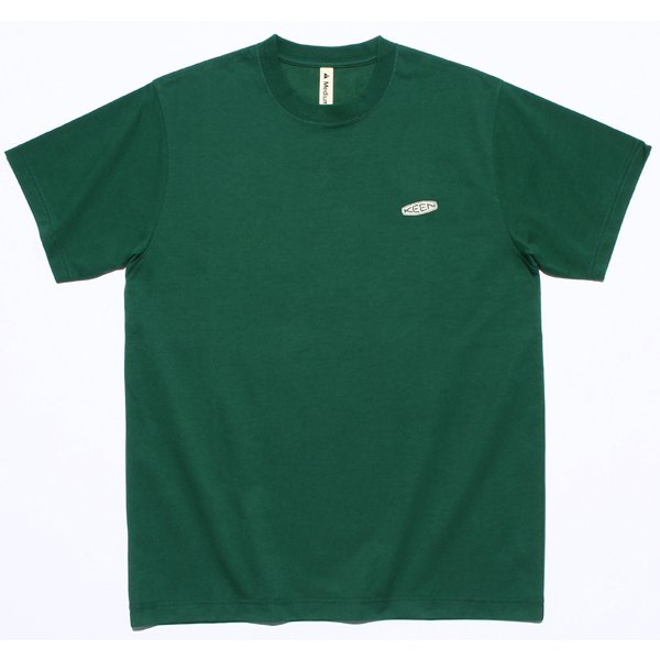 キーン シーアンドビー ロゴ ティー KEEN C&B LOGO TEE 1025732 Green XLサイズ [アウトドア カットソー]