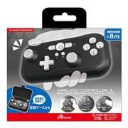 ANS-SW124BK [Nintendo Switch / Nintendo Switch Lite 用 ワイヤレスコントローラ Jr. ブラック]