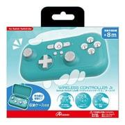 ANS-SW124TQ [Nintendo Switch / Nintendo Switch Lite 用 ワイヤレスコントローラ Jr. ターコイズ]