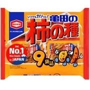 亀田の柿の種 9袋詰 252g
