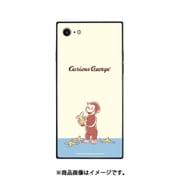 CG-01A [バナナ オサルノジョージ iPhone SE/8/7スクエアガラスケース]
