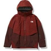 パウダーガイドジャケット Powder Guide Jacket NS62001 BQ Sサイズ [スキーウェア ジャケット メンズ]