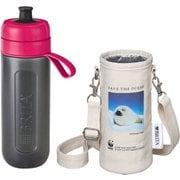 KBACCP1G [ボトル型浄水器アクティブ WWFジャパン コラボ ボトルカバー付き ピンク(タテゴトアザラシ)]