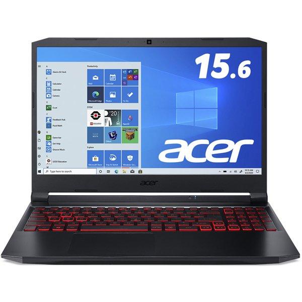 AN515-56-H76Y5 [AN515-56-H76Y5 (Core i7-11370H/16GB/256G SSD+256 SSD/GTX1650/ドライブ無し/144Hz/15.6型/Windows 10 Home(64bit)/シェールブラック)]