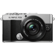 OLYMPUS PEN E-P7 14-42mm EZ レンズキット SLV [ボディ シルバー+交換レンズ「M.ZUIKO DIGITAL ED 14-42mm F3.5-5.6 EZ ブラック」]