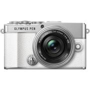 OLYMPUS PEN E-P7 14-42mm EZ レンズキット WHT [ボディ ホワイト+交換レンズ「M.ZUIKO DIGITAL ED 14-42mm F3.5-5.6 EZ シルバー」]