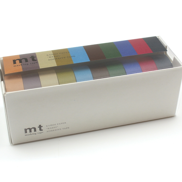 MT10P004R [マスキングテープ mt 幅15mm×7m巻 10P 渋い色2]