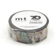 MTPNUT03 [マスキングテープ mt 幅15mm×7m巻 Peanuts パターンのコマ]